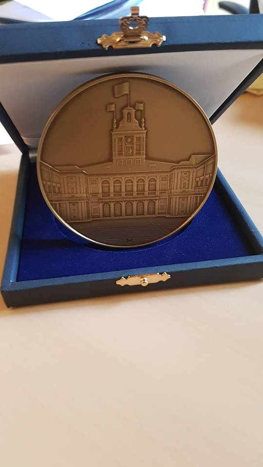Medaglia di Rappresentanza del Presidente della Repubblica alla Giornata Mondiale del Rene 2019
