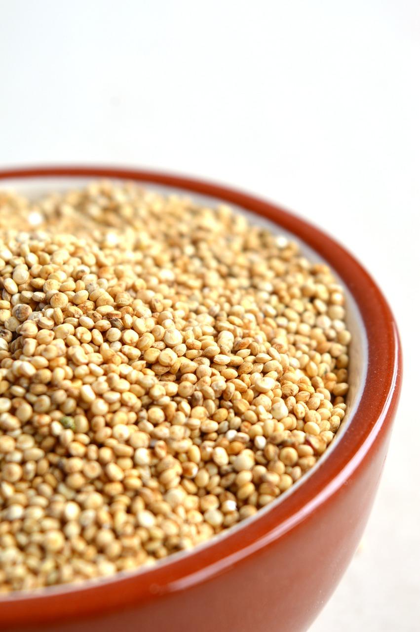 Insalata di quinoa con verdure e ceci: pseudocereali amici della salute