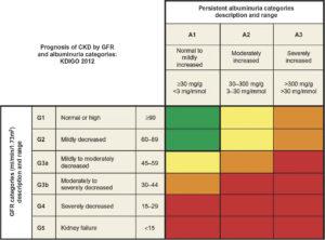 5 stadi di insufficienza renale - creatinina filtrato glomerulare